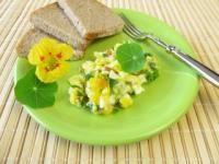 Salata cu nasturei (Nasturtium officinale)
