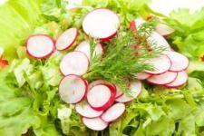 Salata cu ridichi si castraveti